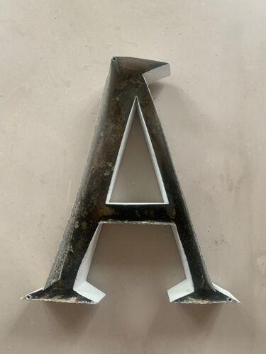 Old Sign Letter A