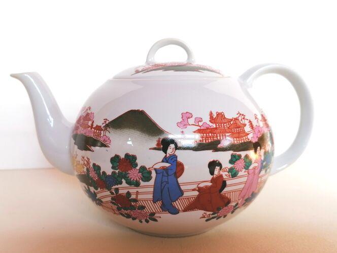 Service à thé japonais et ses 6 bolées