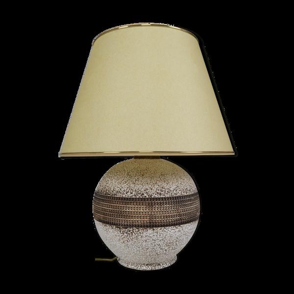 Lampe en céramique art déco 1930s