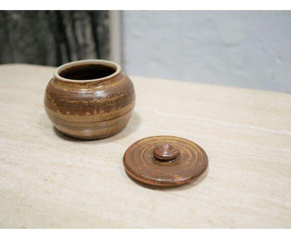 Vintage sandstone sugar pot