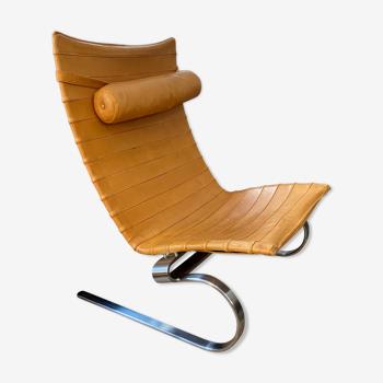 Chaise longue PK20 design Poul Kjaerholm, 1968 édition Fritz Hansen 2002