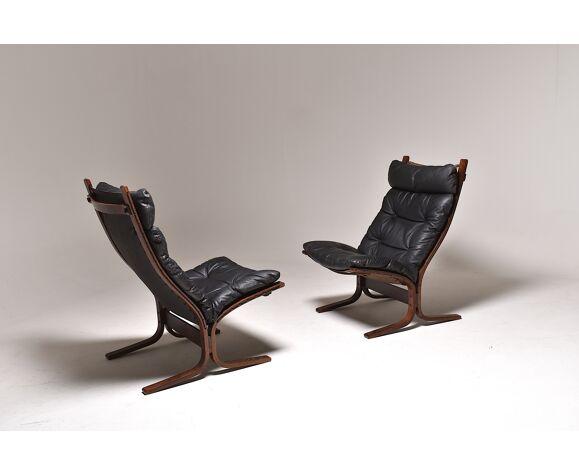Paire de fauteuils Siesta par Ingmar Reilling , Westnofa