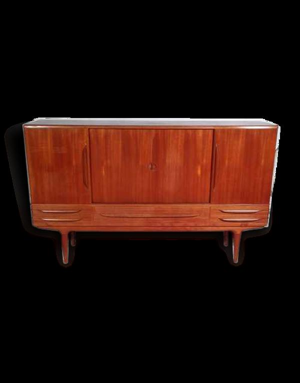 Meuble haut scandinave design JOHANNES ANDERSEN édité par SAMCOM vers 1960