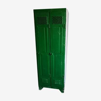 Armoire vestiaire industriel vintage déco loft