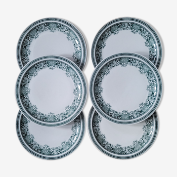 Set 6 plates Mosa Maastrich