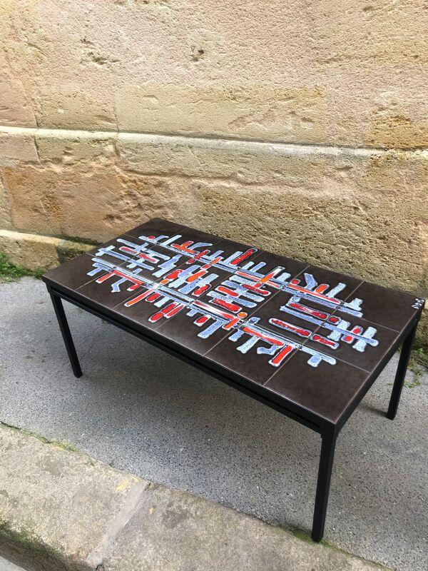 Table basse céramique par Adri