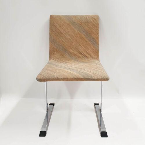 4 chaises à manger italiennes 'Inlay' par Giovanni Offredi pour Saporiti 1970