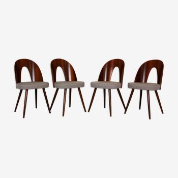 4 chaises à manger par Antonin Suman pour Mier, années 1960