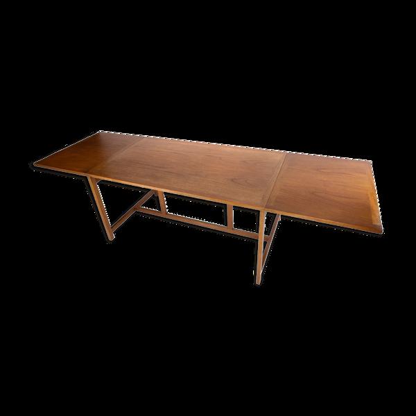 Table basse en bois de rose design danois des années 1960.