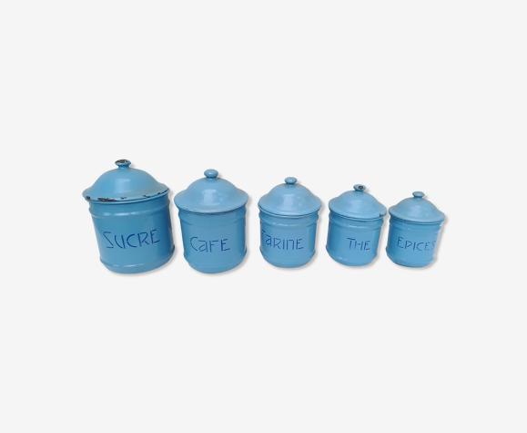 Série de pots a épices