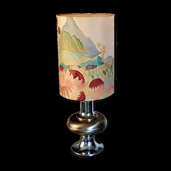Lampe chromé 1970