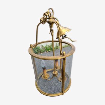 Lanterne ancienne doree
