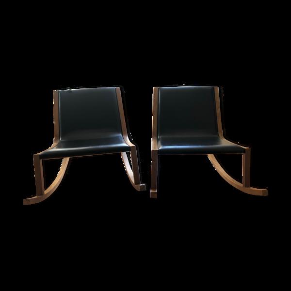 Fauteuils à bascule rocking chairs