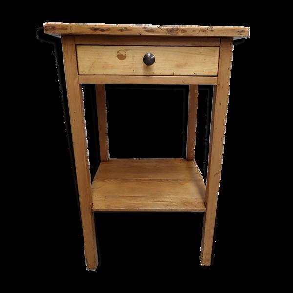 Table d'appoint avec tiroir