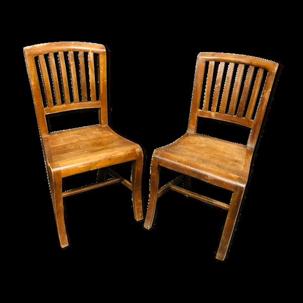 Deux chaises bistro