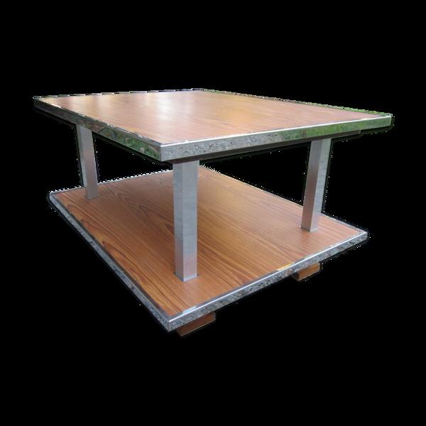 Table basse design vintage en formica