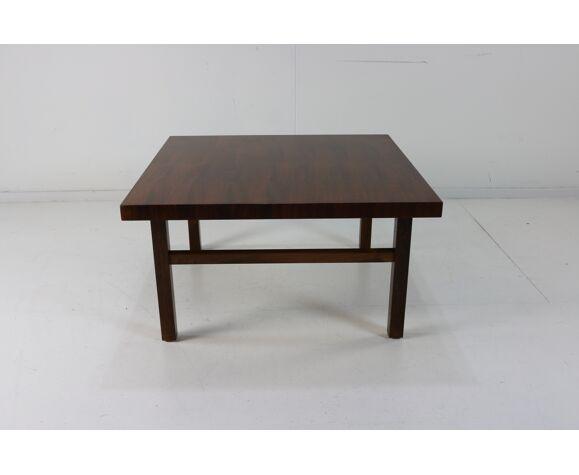 Table basse avec incrustation de bois de rose pour Bramin