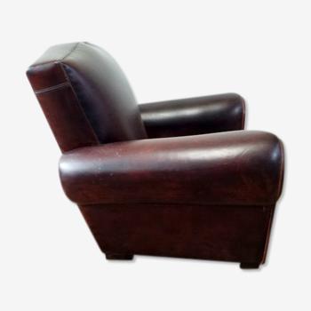 Moustache club armchair
