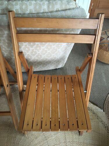 Lot de 2 chaises pliantes