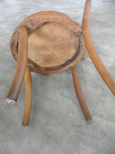 Chaise enfant en chêne de Fischel