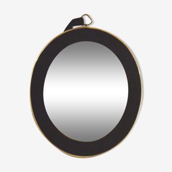 Miroir années 60 37 X 32 cm