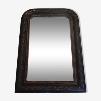 Miroir époque fin XIXème 59x83cm