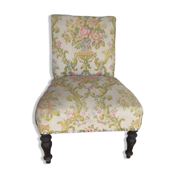 Fauteuil tissus bas