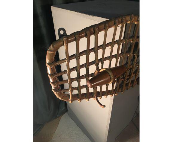 Porte manteau bambou