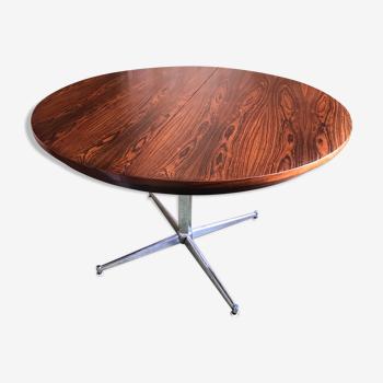 Table salle à manger Luigi Bartolini. Placage de palissandre