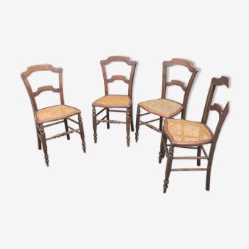 Quatre chaises époque Napoléon III