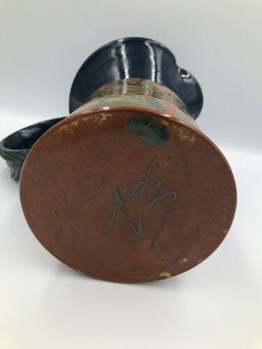 Pichet en céramique et poignée années 50/60