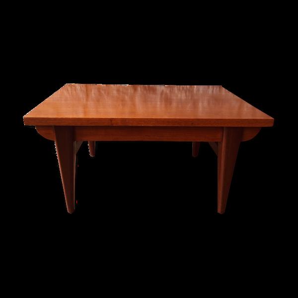 Table basse vintage style scandinave années 60/70