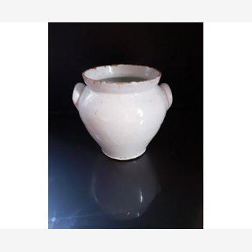 Glazed earth pot