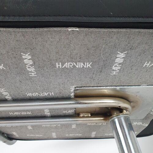 Chaise longue pivotante en cuir «Optie» de Type Hollandais par Harvink, années 1990