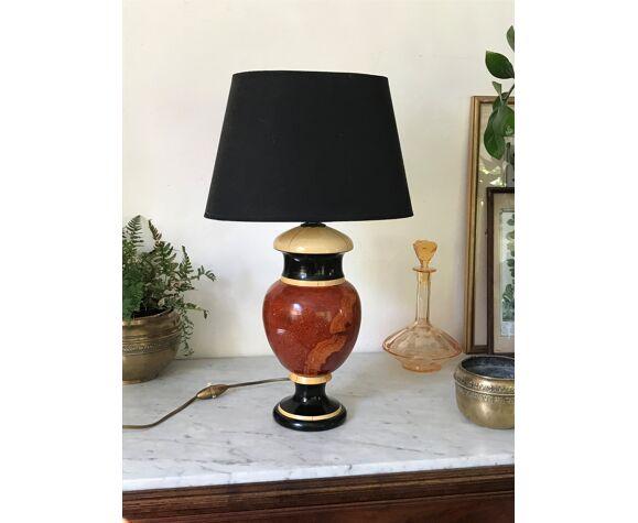 Lampe signée Jean Roger vintage
