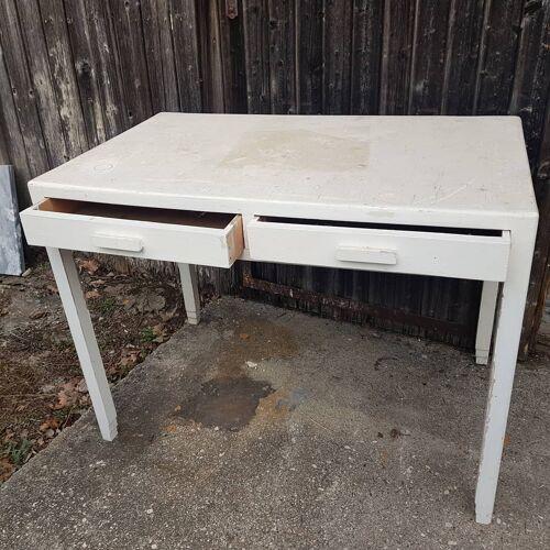 Table bois vintage