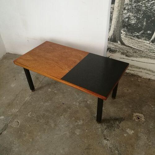 Table basse années 50