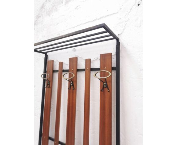 Italian wall coat rack