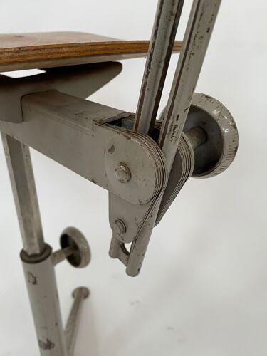 Chaise de travail vintage Friso Kramer Ahrend de Cirkel chaise design d'atelier