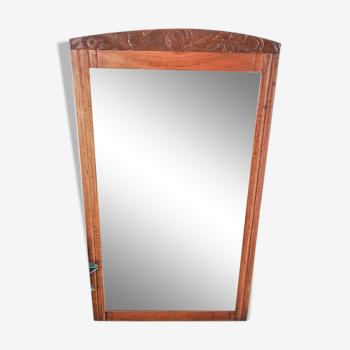 Miroir Art Déco 134x77cm