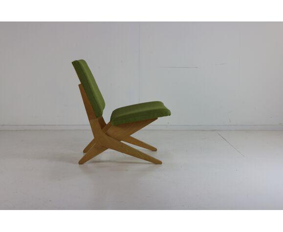 Chauffeuse à ciseaux à assise basse de Jan van Grunsven, édition UMS Pastoe