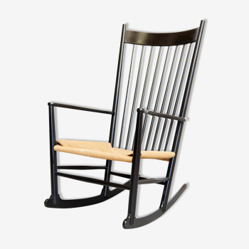 Rocking-chair Hans J.Wegner  J16 for FDB Møbler 1944
