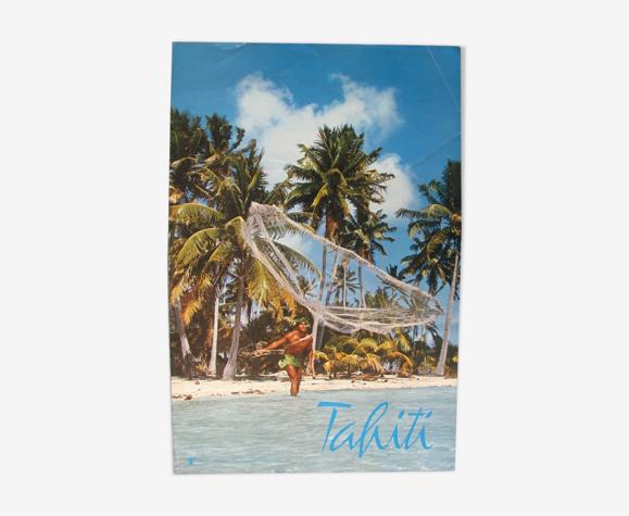 Affiche publicitaire tourisme à Tahiti photo de Erwin Christian