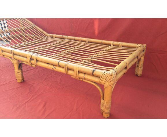 Méridienne en bambou