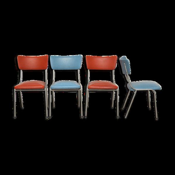 4 chaises retro, 1960