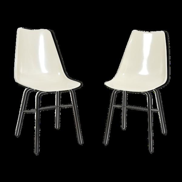 Selency Paire de chaises  par Vertex 1960