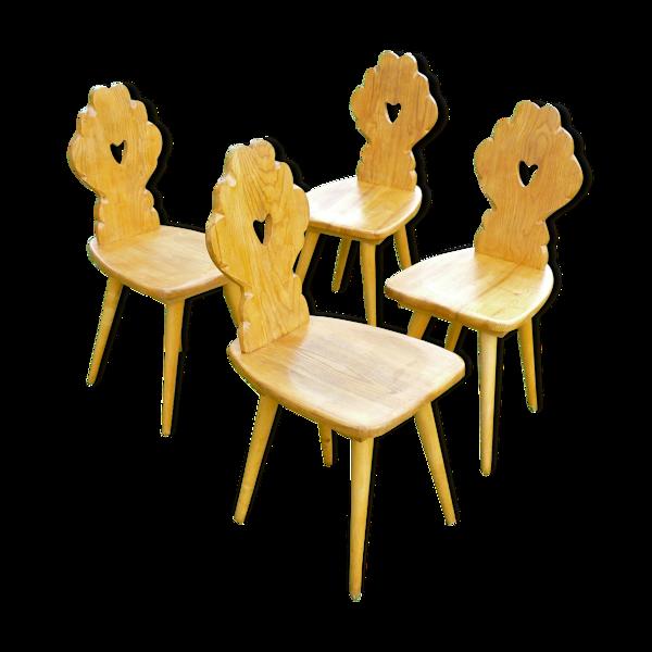 Selency Série de 4 chaises, 1960