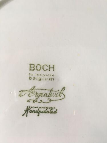Assiette  Boch La Louviére , 1960
