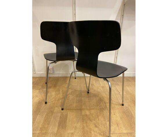 Chaise Marteau par Arne Jacobsen pour Fritz Hansen