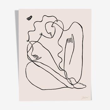 """Encre de Chine """"Figure d'Aphrodite"""" en édition limitée"""